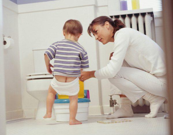 Ребенок хочет в туалет