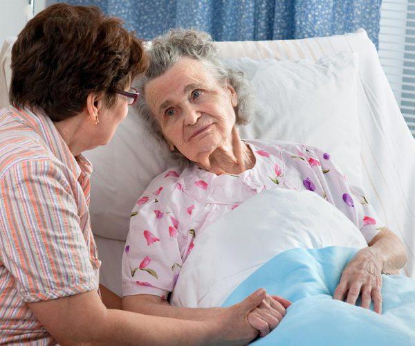 уход за лежачими больными с переломом шейки бедра трах