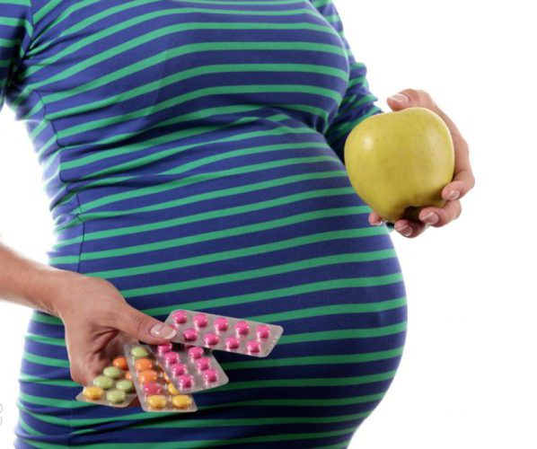 Беременность витамины