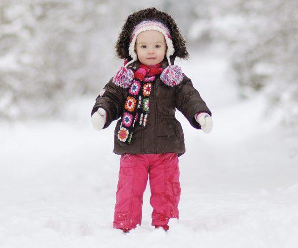 Ребенок зима