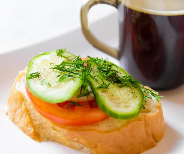 Завтрак бутерброд