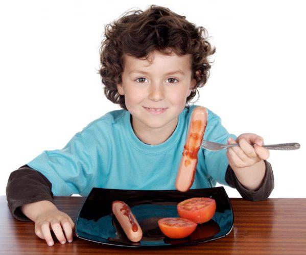 Ребенок мясо