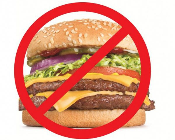 Нельзя жирное мясо