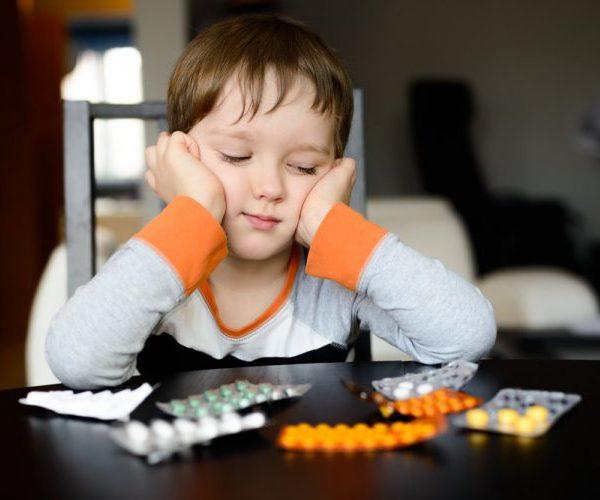 Передозировка лекарств ребенок